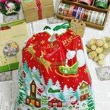 日本 amifa Xmas 聖誕禮物袋.束口袋【平安夜(28669)】