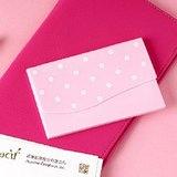 Vacii Hello 名片夾-粉紅