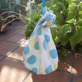 【泡泡展限定】夏日氣泡圓筒包-黃藍