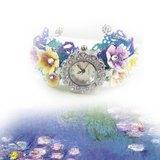 莫內花園版手鐲錶