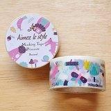 Aimez le style 28mm和紙膠帶 (03423 可愛動物)