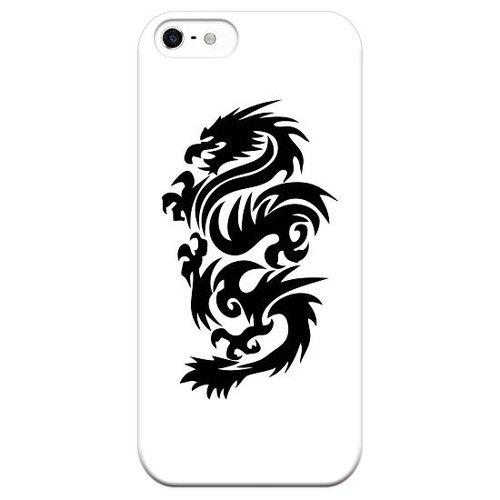 创意商品-刺青手机壳【传统图案-龙】白壳图片