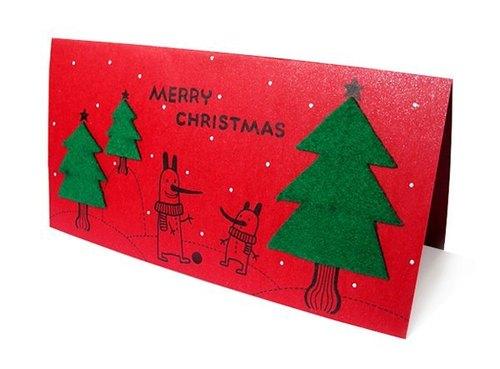 手工卡片:圣诞卡(手绘
