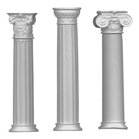 罗马柱粉笔