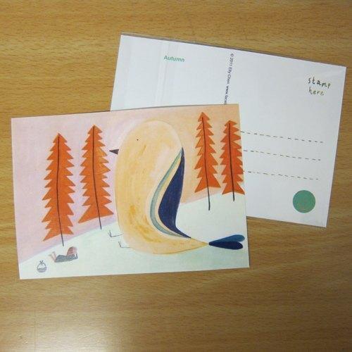收到的明信片, 常常变成我的桌上小物