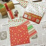 日本 amifa Xmas 聖誕風格藝術紙 (28461)
