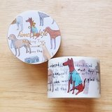 Aimez le style 寬版和紙膠帶 (04505 時尚狗狗)