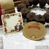 日本 amifa Xmas 聖誕風格迷你小卡 (28744)