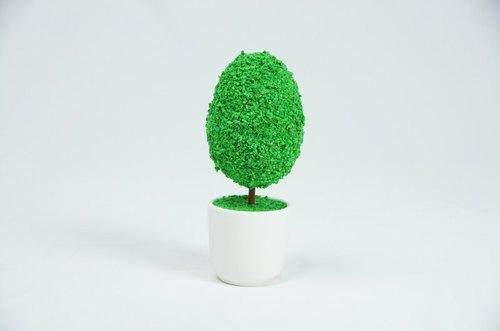 [bonsai man] 蛋头先生 手工创意小树图片