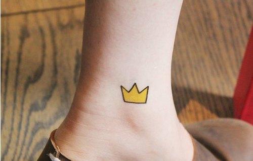 小王子的皇冠 / 刺青贴纸组 1组5张