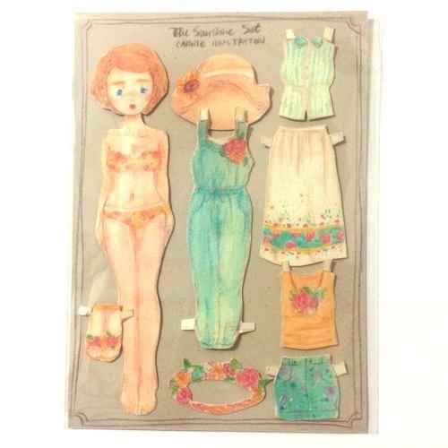 做纸娃娃的头饰步骤及图片