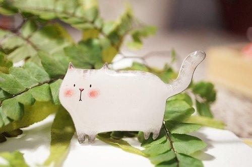 猫咪森林*猫咪胸针*手工制作