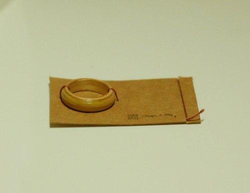 干鑫设计 再次推出升级版手工订制戒指 坚持百分百 手工制作 松木戒指