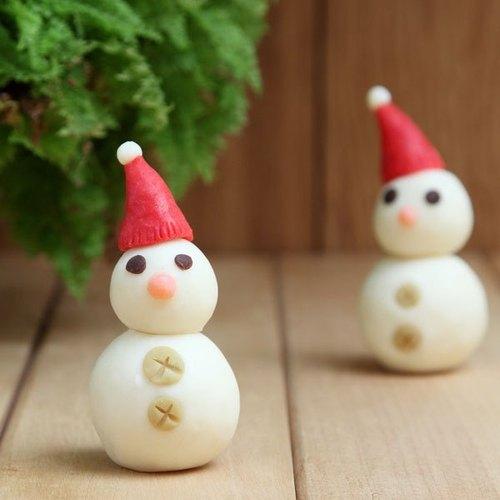 手工制作雪人娃娃