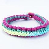 彩繩-紫綠多色款