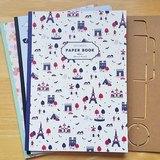 Aimez le style Paper Book 彩繪藝術紙 (03485 Steffie Brocoli) 包裝紙 裝飾