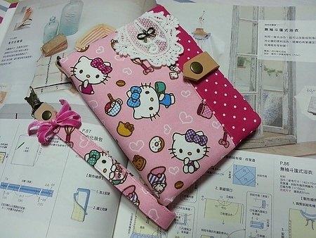 浪漫可爱风~kitty护照套(包)