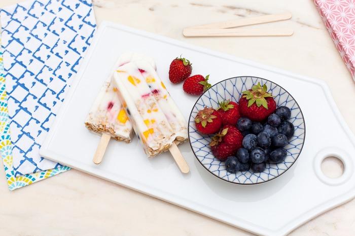 夏日健康消暑點心:優格水果冰棒 DIY