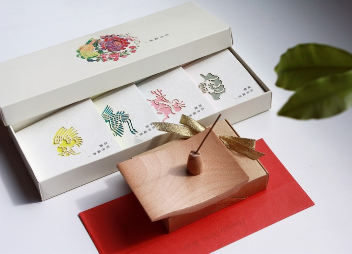 The Floral Scents Of Peony, Begonia, Chrysanthemum, And Plum Blossoms Give  Receivers The Traditional Four Blessings Of Chinese New Year: Fortune, ...