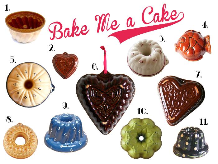 用美麗的老瓷器模烤蛋糕 設計誌.讀設計 Pinkoi