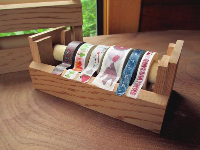 桌面 整理 紙膠帶 收納盒