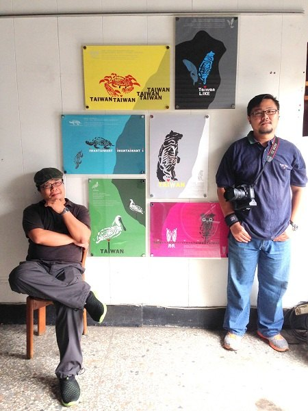 左:原創設計師高一民  右:影像總監紀廷儒