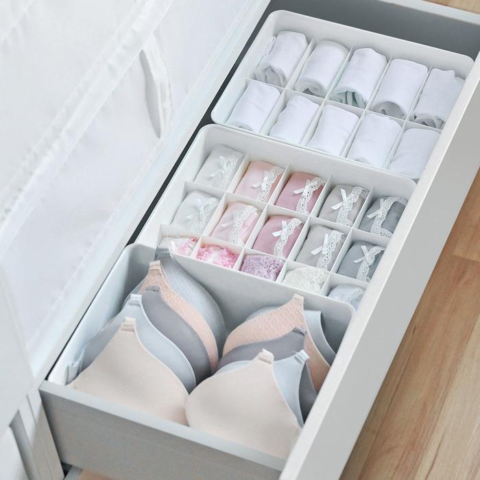 收納 衣櫃 分隔 防塵 塑膠收納盒