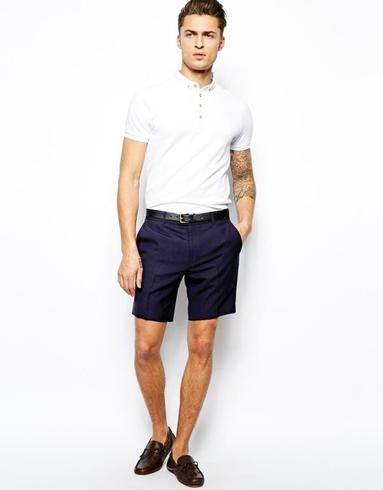 Summer Style For Guys How To Wear Shorts Read Zine Pinkoi