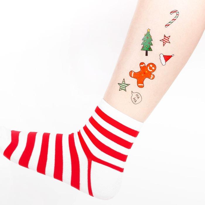 Miss Surprise 聖誕節 紋身貼紙 交換禮物 100元以下