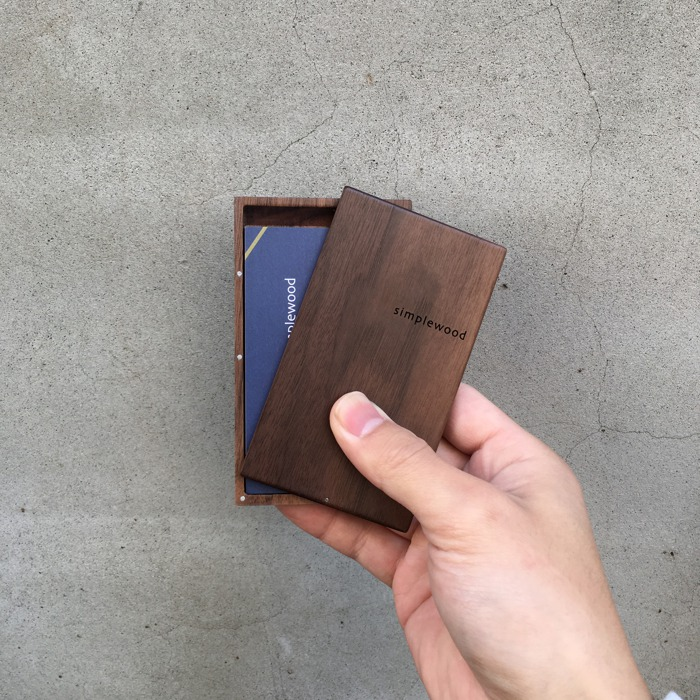 2021畢業禮物推薦:木製名片盒
