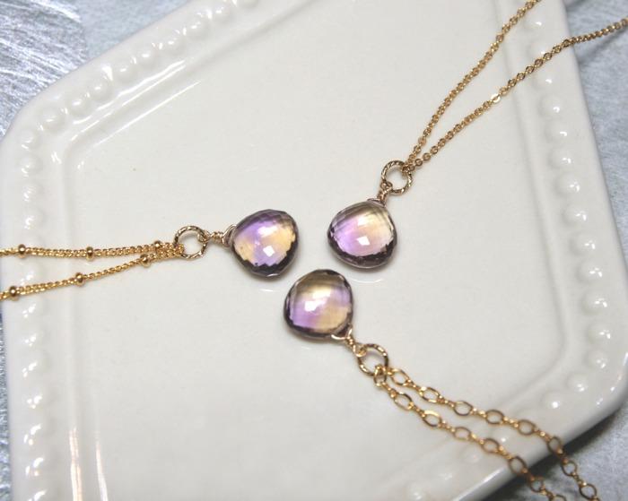 水晶 招財 寶石 天然石 紫黃晶