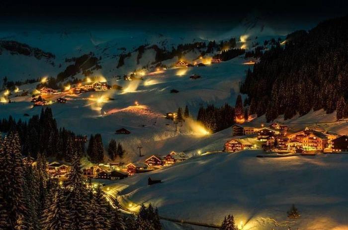 奧地利 達米爾斯 下雪 冬天旅行 旅行 歐洲 下雪的國家 會下雪的國家 下雪國家 下雪城市