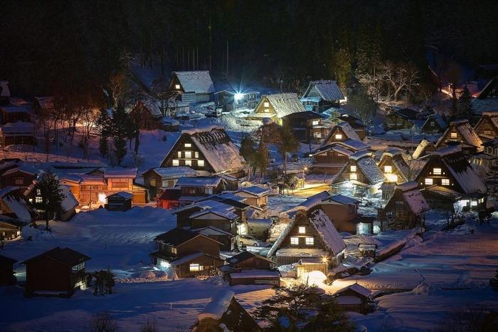 日本 白川鄉 下雪 冬天旅行 旅行 歐洲 下雪的國家 會下雪的國家 下雪國家 下雪城市