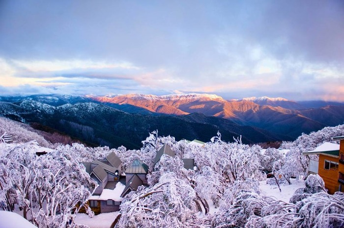 澳洲 布勒山 下雪 冬天旅行 旅行 歐洲 下雪的國家 會下雪的國家 下雪國家 下雪城市