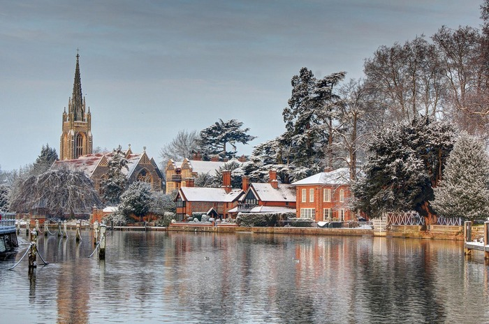英國 馬洛 下雪 冬天旅行 旅行 歐洲 下雪的國家 會下雪的國家 下雪國家 下雪城市