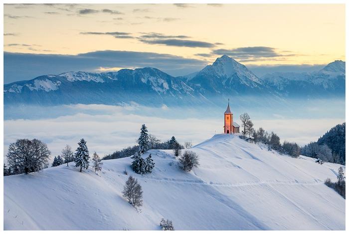 斯洛文尼亞 Jamnik 下雪 冬天旅行 旅行 歐洲 下雪的國家 會下雪的國家 下雪國家 下雪城市