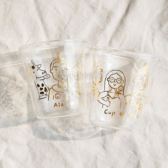 2021畢業禮物推薦:成對玻璃杯