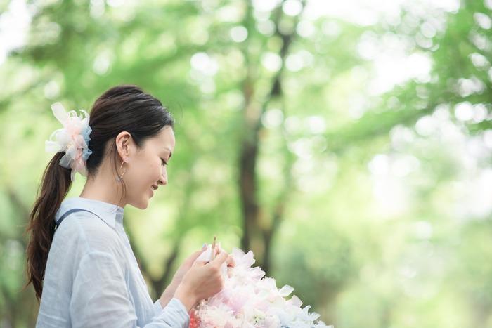 日本品牌 Chiko 設計師手作花漾編織