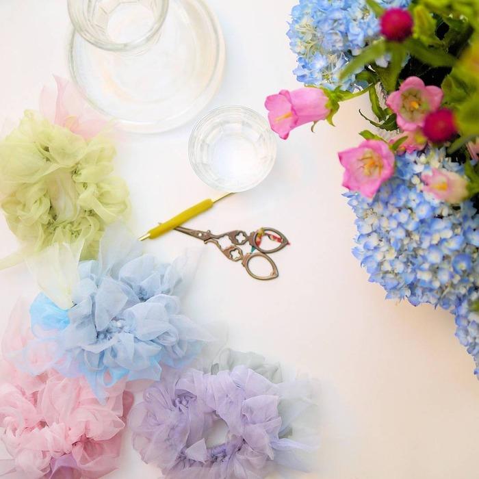 日本品牌 Chiko 花漾編織 手作過程