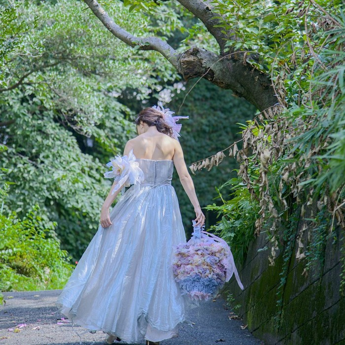 日本品牌 Chiko 花漾編織 婚紗