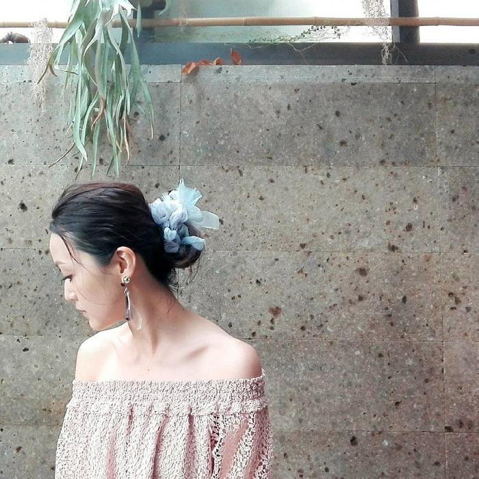 日本品牌 Chiko 花漾編織 髮圈