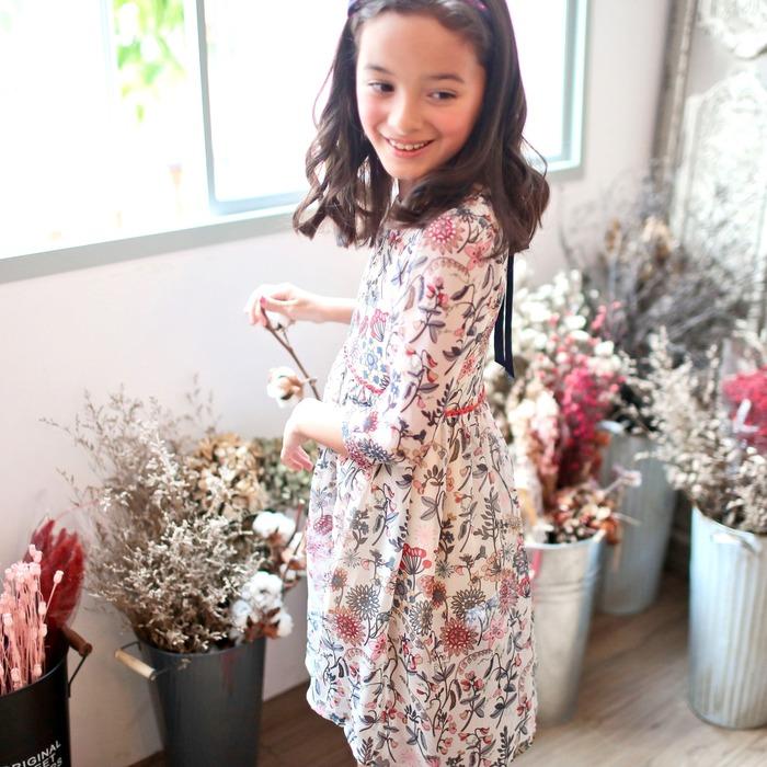 美國童裝 碎花洋裝