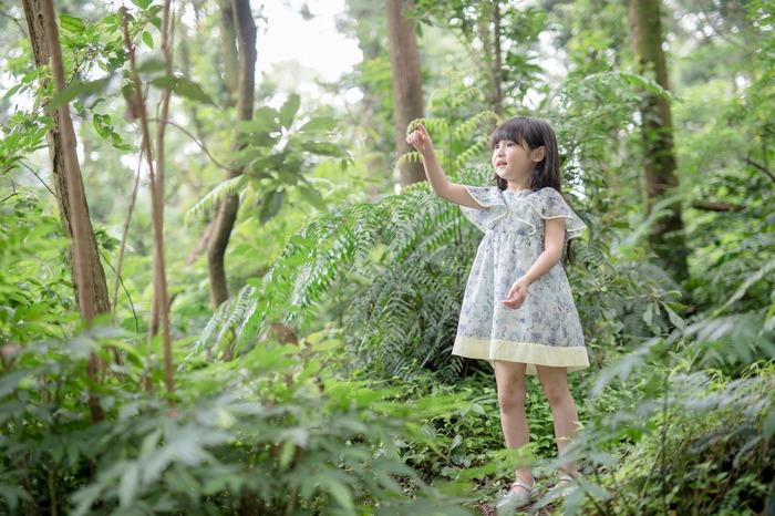 台灣童裝 雪紡洋裝