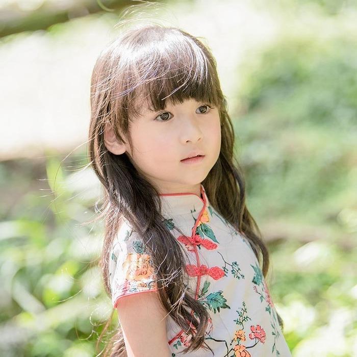 台灣童裝 復古小旗袍