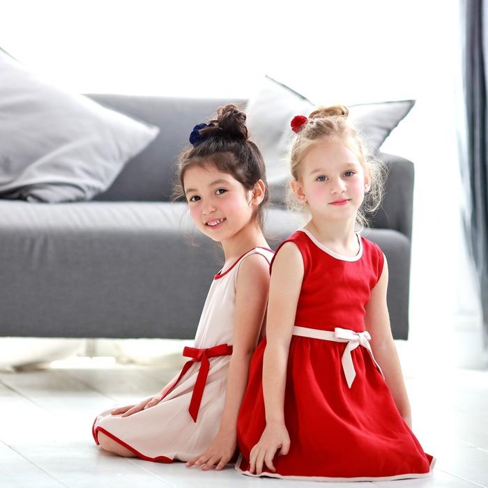 美國童裝 蝴蝶結洋裝