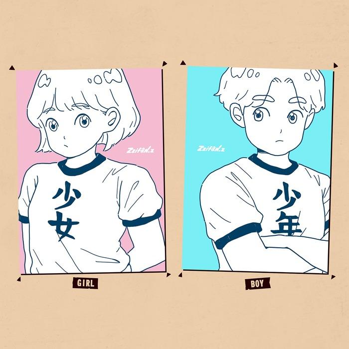 台灣插畫品牌 zzifan_z 的明信片