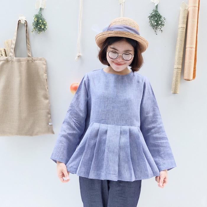 泰國服裝品牌 katji-cozytime 薰衣草上衣