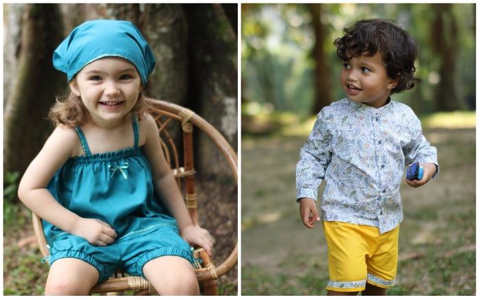 馬來西亞童裝 Loulou 女孩與男孩童裝
