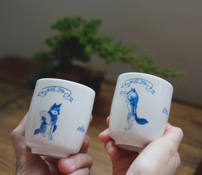 台灣茶葉品牌琅茶的茶杯