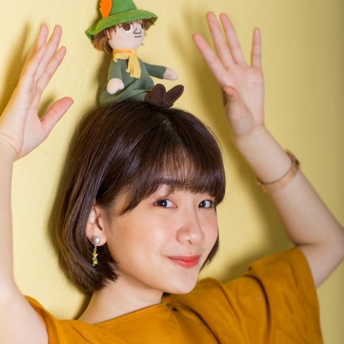 香港飾品 Moomin Jewelry 的 Snufkin 耳夾式耳環
